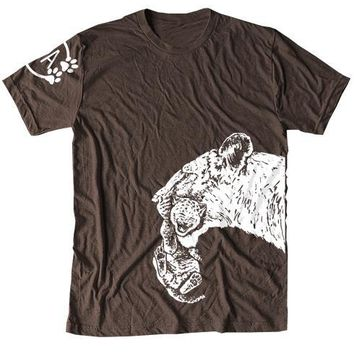 Jessie Jordan Collection - Lion Mom Men's Tee