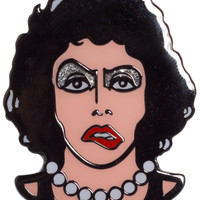 CREEPY CO TITILLATED TRANSVESTITE ENAMEL PIN