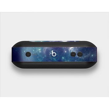 The Subtle Blue and Green Nebula Skin Set for the Beats Pill Plus