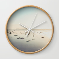 San Diego Scripps Beach Wall Clock by SoCal Chic Photography
