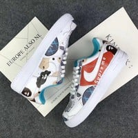 Best Deal Online Bape x Supreme x Kaws x Nike Air Force 1 Fashion Shoes