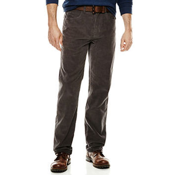 St. John`s Bay Straight Fit Corduroy Pants - JCPenney