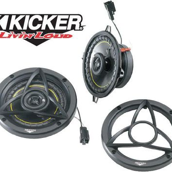 Kicker Factory Replacement Overhead Sound Bar Speaker Kits for 97-06 Jeep® Wrangler TJ & Unlimited