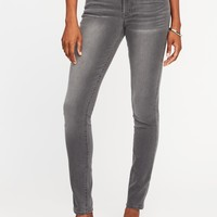 Mid-Rise Super Skinny Jeans for Women |old-navy