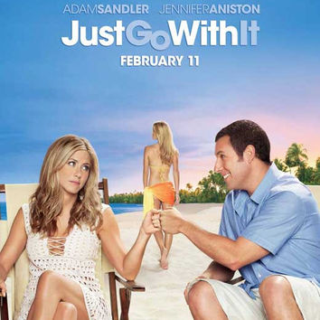 Just Go with It 11x17 Movie Poster (2011)