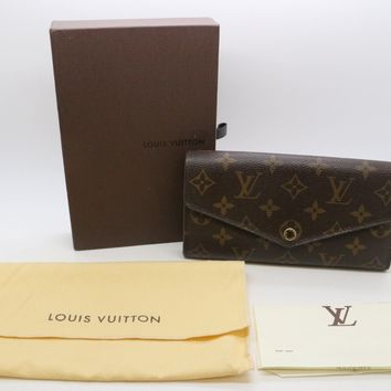 Authentic New Louis Vuitton Sarah Wallet M60531 w/Receipt