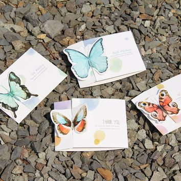60Pc Butterfly Mini Greeting Card