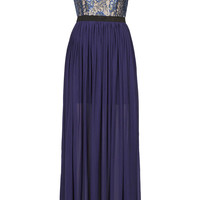 **LACE TOP MAXI DRESS BY RARE