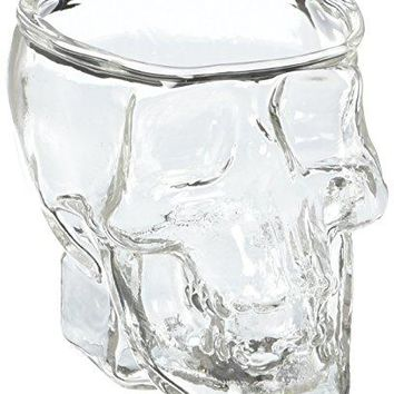 Generic General Crystal Skull Pirate Shot Glass Drink Cocktail Beer Cup Transparent