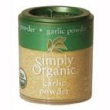 Simply Organic Mini Garlic Powder (6x.92 Oz)