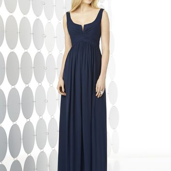 After Six by Dessy 6727 Tank Chiffon Bridesmaid Dress