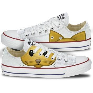 Converse Cat Emoji Low Top Chucks
