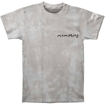 Chainsmokers Men's  Memories Tie Dye T-shirt Grey