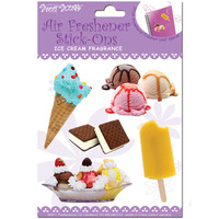 ICE CREAM SMELLY STICKERS