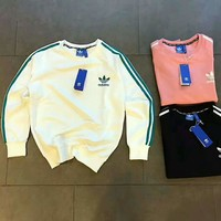 Adidas women man Casual Hedging sweater top H-AGG-CZDL