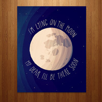 The Moon Song Art Print