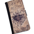 The Marauders Map Harry Potter inspired Samsung Galaxy S6 Samsung Galaxy Note 4 Note3 iPhone wallet case, iPhone 6 case