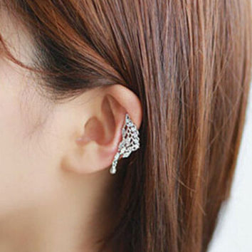 New Arrival Stylish Shiny Gift Jewelry Korean Rhinestone Water Droplets Ring [6586145671]