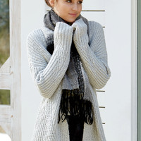 LA Hearts Chunky Cozy Open Front Cardigan at PacSun.com