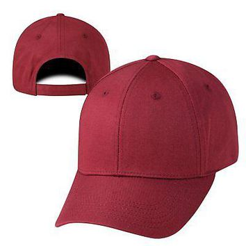 Licensed Maroon Official Adjustable Twill Hat Cap by Top of the World 185006 KO_19_1