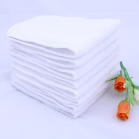 New Antibacterial Baby Mat Liners Inserts 3 Layers Soft Breathable Cloth Diapers