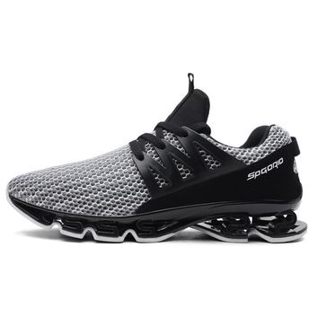 LoadingFunds New Men's Running Shoes Spring Blade Sneakers Cushioning Outdoor Male Sport Shoes For Men Athletic Shoes