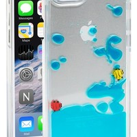 Women's Skinnydip 'Blue Fish' Liquid iPhone 6 Case