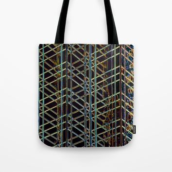 Abstract Design 1 Tote Bag by Claude Gariepy