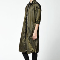 Diamond Supply Co Radiant Longline Trench Coat at PacSun.com