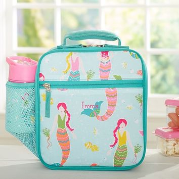 Mackenzie Aqua Mermaids Classic Lunch Bag