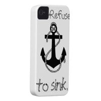 Anchor Quote iPhone 4 Covers from Zazzle.com