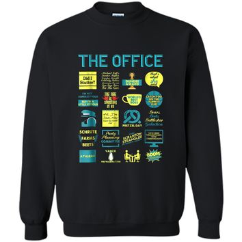 The Office Quote Mash-Up Funny  - Official Tee Printed Crewneck Pullover Sweatshirt