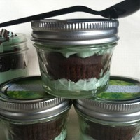 Grasshopper Cupcake In A Jar(5) on Luulla