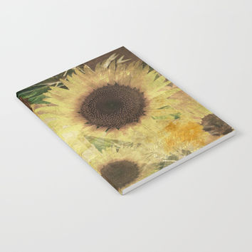 Wallflowers Notebook by Theresa Campbell D'August Art