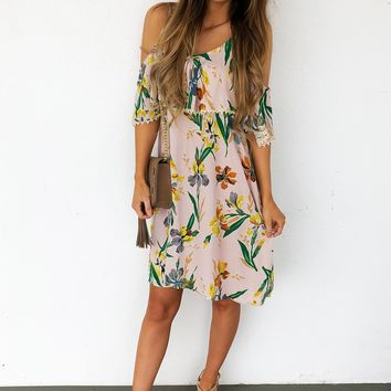 No Worries Dress: Multi