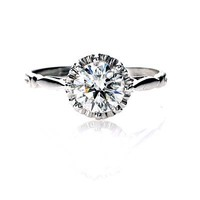 Leigh Jay Nacht Inc. - Replica Edwardian Engagement ring - 3116-01