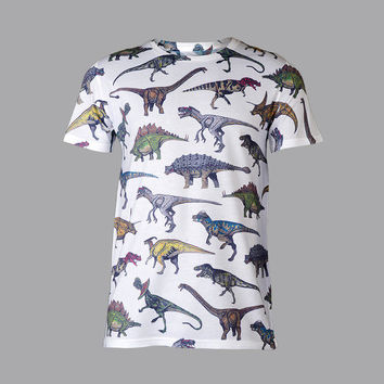Plug and String Clothing — DINO TEE
