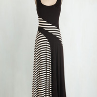 Long Sleeveless Maxi Afternoon Musings Dress by ModCloth