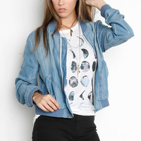 """Denim Bomb"" Jacket"
