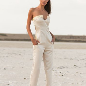 Center Dip Jumpsuit