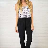 Lucy Zipper Jogger Pant