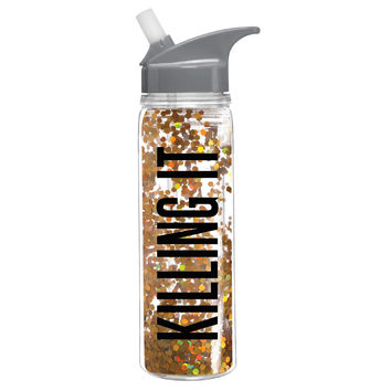 Killing It Confetti Water Bottle
