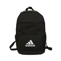 ADIDAS Men's and Women's Fashion Sports Casual Bag Backpack Black
