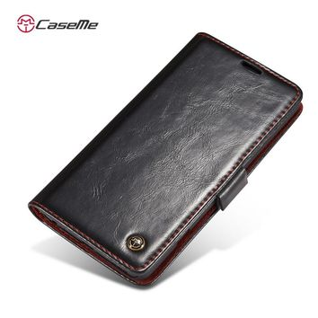 Google Nexus 5 High Quality Dirt-resistant Business Style Wallet Case 0930-40