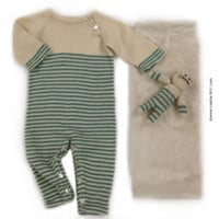 Classic Stripes Baby Gift Set, 2