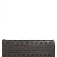 kate spade new york 'lillian court - neva' leather envelope clutch