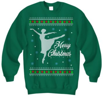 Ballet Ugly Christmas Sweater