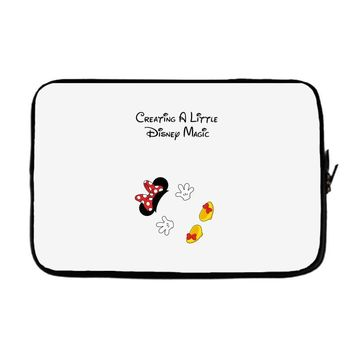 Creating A Little Disney Magic Minnie Mouse Laptop sleeve