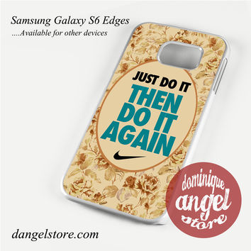 Nike floral quote Phone Case for Samsung Galaxy S3/S4/S5/S6/S6 Edge/S6 Edge Plus