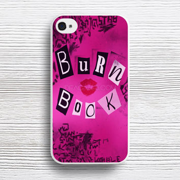 Burn Book Mean Girls case iPhone 4s 5s 5c 6s 6 Plus Cases, Samsung Case, iPod 4 5 6 case, HTC case, Sony Xperia case, LG case, Nexus case, iPad case